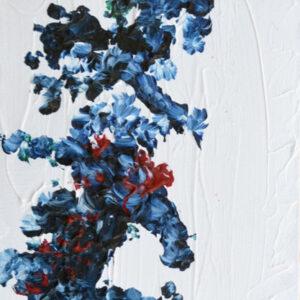 Tavla Nebulosa 2 | Akrylmålning av Inger Johnsson